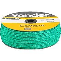 Corda Multifilamento Trançada 3 X 625 M, Verde, Em Carretel, Vonder Vdo2861 Vonder Verde
