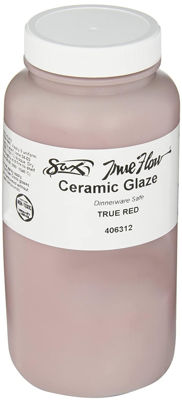 Sax True Flow Gloss Glaze, Red, 1 Pint - 406312