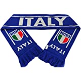 Football Scarves - Italy International Soccer Scarf for World Cup Qualification Campaign