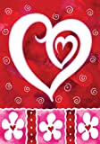 Amazon Price History for:Toland - Heart & Flowers - Decorative Valentine Day Love Red USA-Produced House Flag