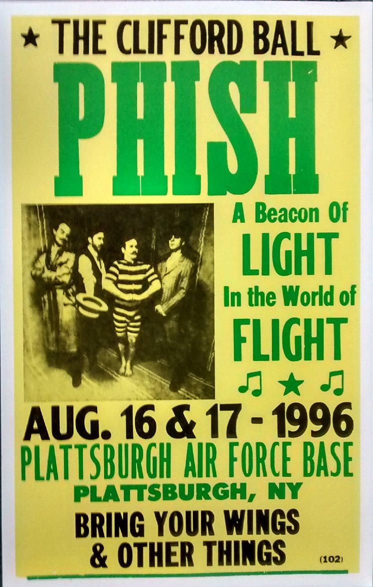 Amazon.com: Phish in Concert, Plattsburgh Air Force Base, August ...