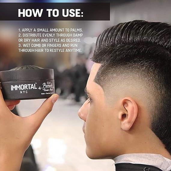 Amazon Com Immortal Nyc Iconic Men Hair Pomade For Men Hair Pomade For Men Mens Hair Pomade For Men Mens Hair Pomade Mens Pomade Mens Hair