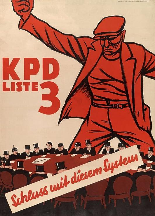 Alemán de entreguerras Propaganda Comunista NO más de este ...