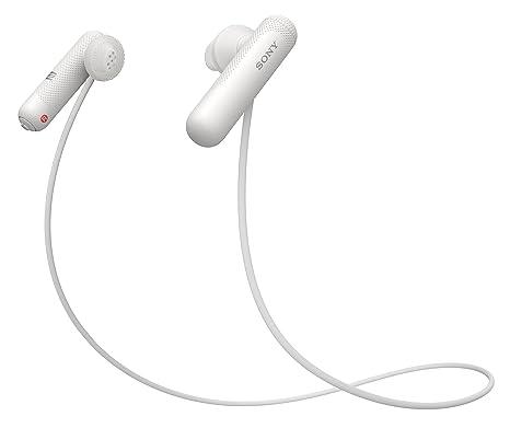 Sony WI-SP500W - Auriculares Deportivos inalámbricos con Bluetooth, Color Blanco