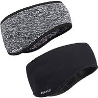 Roysmart Winter Ear Warmers Headband, Stretchy Yoga Headband Gym Sport Headband Thermal Ear Muffs Ski Headband Moisture…