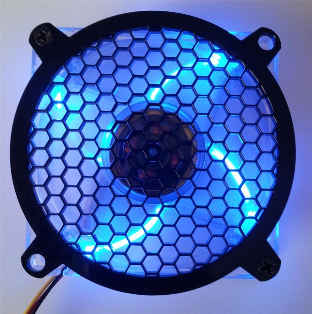 Custom Acrylic Honeycomb Computer Fan Grill 92mm