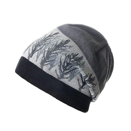 393199cc2ba YAMED Autumn Gorros Unisex Bone Hat Men s Winter Beanie Man Skullies  Knitted Wool Beanies Women s Winter