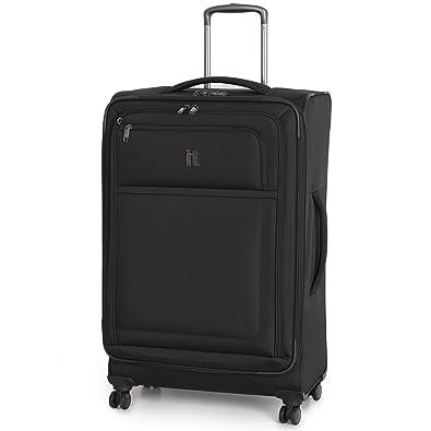 09a11e8d1 IT Luggage Black 'LuxLite' Large 28