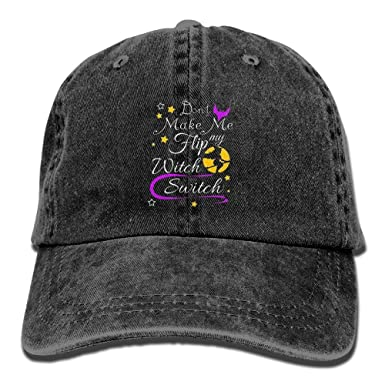 Halloween Witch Baseball Hat Men and Women Fashion Baseball Cap Outdoor   Amazon.co.uk  Clothing a31bf79ff58