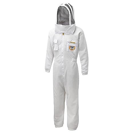 Amazon.com: Bee Prueba trajes Zonda ventilada Bee traje tela ...