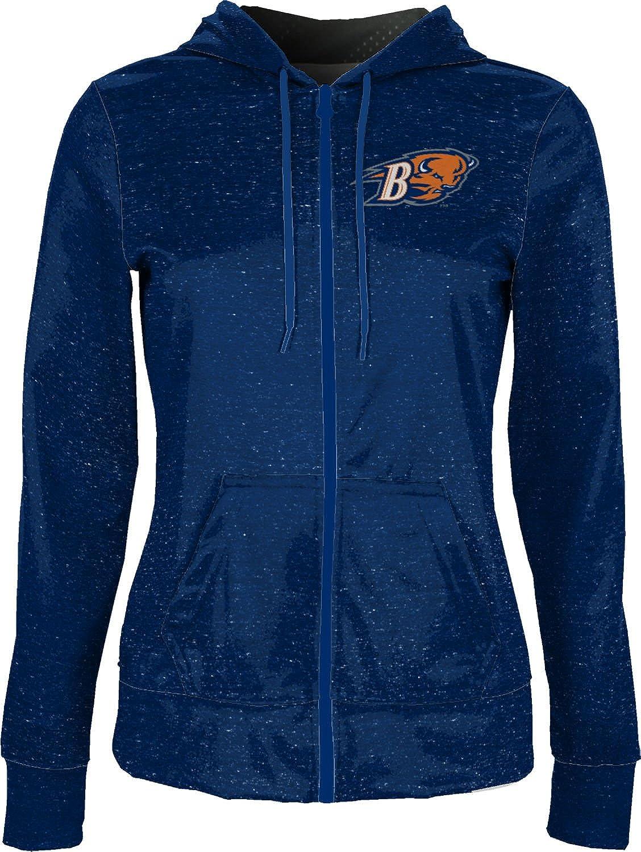 School Spirit Sweatshirt ProSphere Bucknell University Womens Zipper Hoodie Heathered