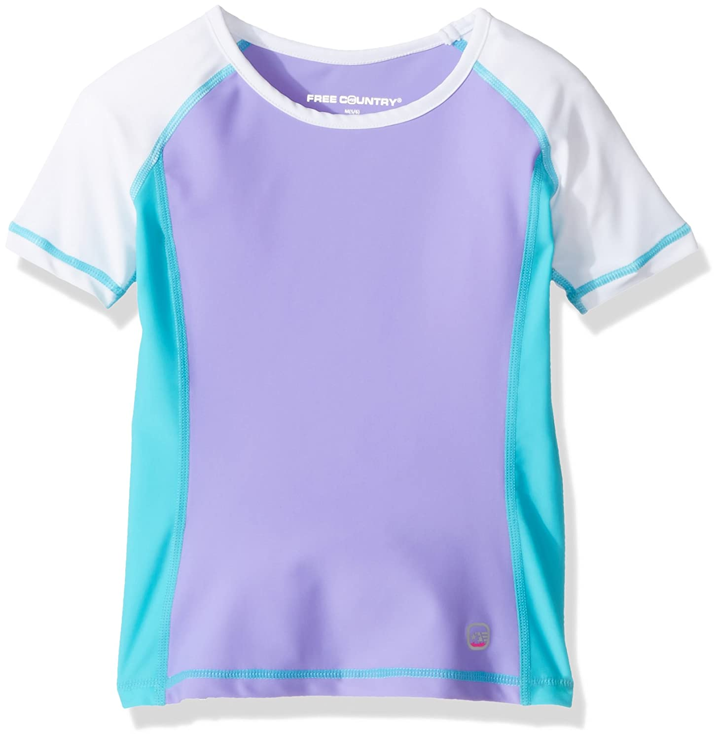 Free Country Girls Short Sleeve Rash Guard