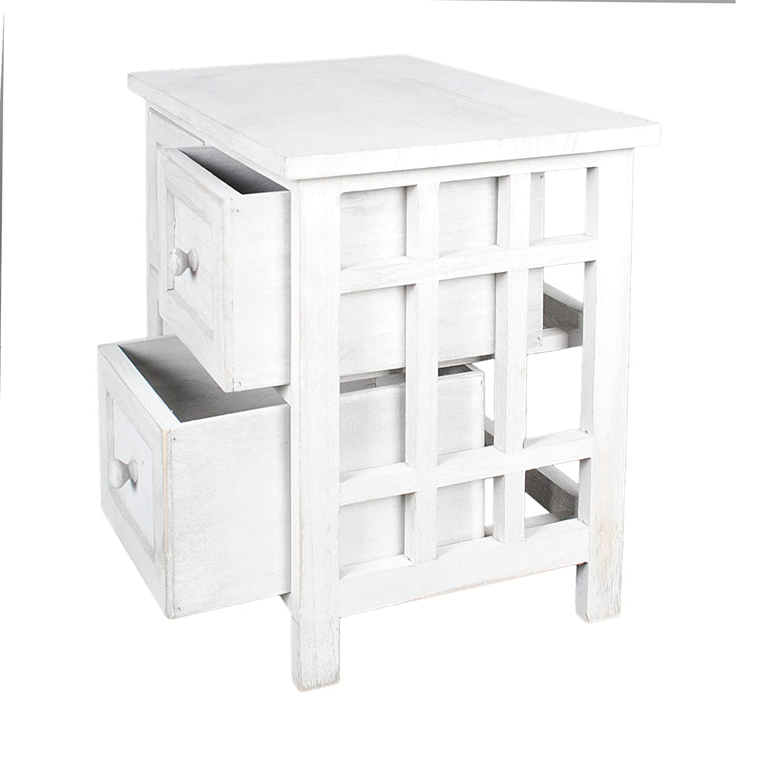 Mobiletto grigio in stile rustico per il bagno,cucina,corridoio e ...