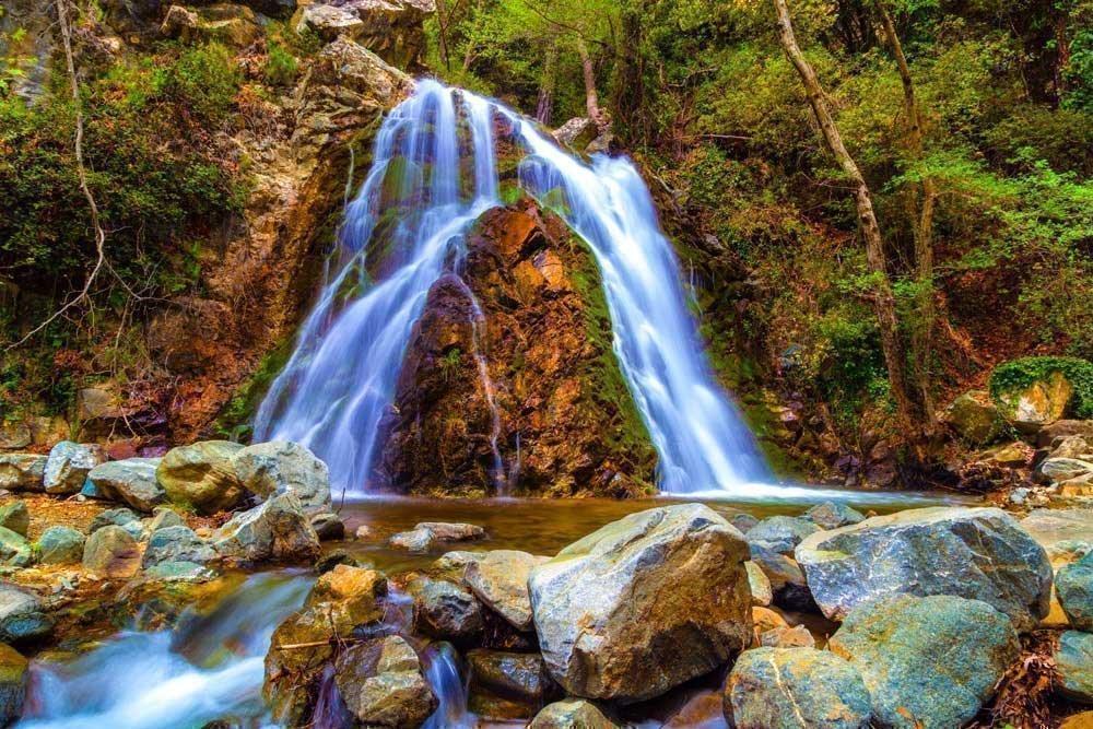 8x10 Matted Fine ARt Photograph. Chantara Waterfalls 120501-132. by Pacography
