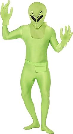 Smiffys - Disfraz de alien (pegado al cuerpo) para hombre, talla ...