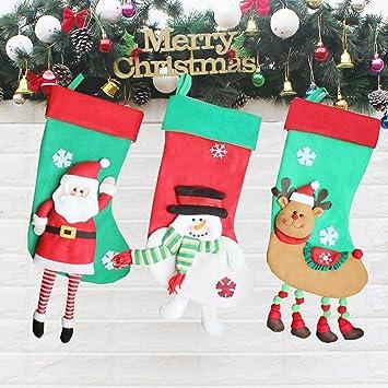 Christmas Stocking Fireplace Decorations 23'', Xmas Tree Decorations  Ornaments Socks, Personalized Hanging - Amazon.com: Christmas Stocking Fireplace Decorations 23'', Xmas Tree