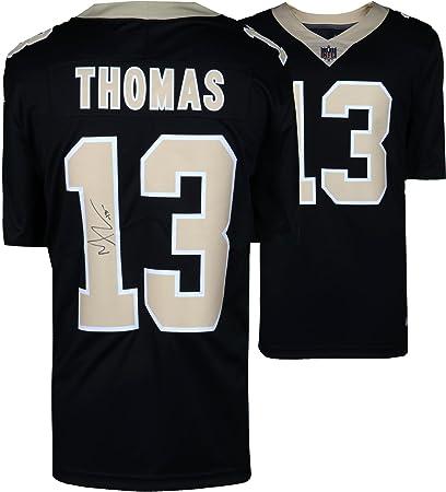 Image Unavailable. Image not available for. Color  Michael Thomas New  Orleans Saints Autographed Nike Black Limited Jersey ... 1d6ff2e99
