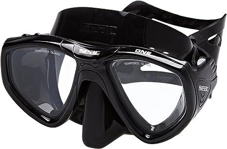 SEAC Corrugato Snorkel with black tip