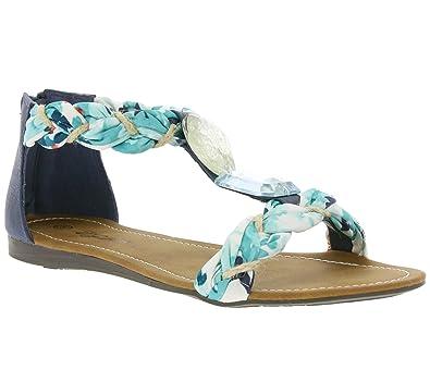 0315ec5cc City Walk Jewel Women s Sandal Blue 680462  Amazon.co.uk  Shoes   Bags