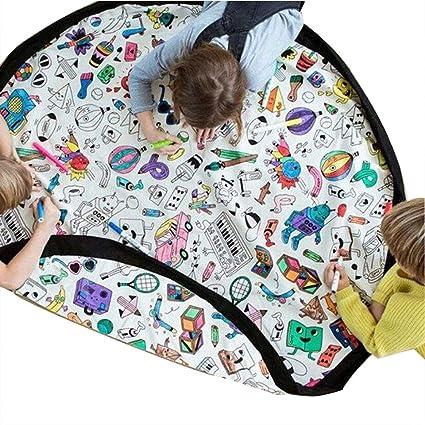 TXDY Bolsa de Almacenamiento de DIY para niños, colchoneta ...