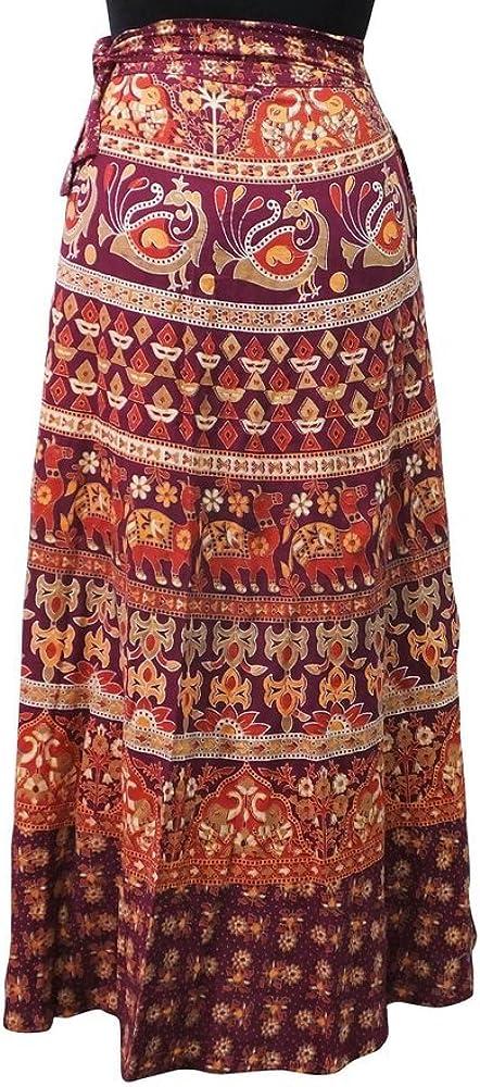 mujeres vintflea envuelven animal print vestido de verano india de ...