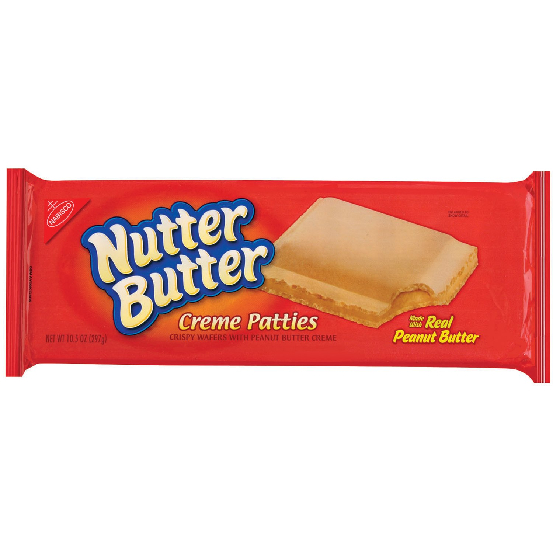 Nutter Butter Peanut Butter Creme Patties, 10.5 Ounce (Pack of 12) by Nutter Butter