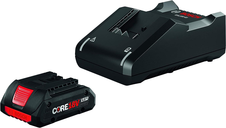 Bosch GXS18V-15N15 18V Starter Kit with (1) CORE18V 4.0 Ah Compact Battery