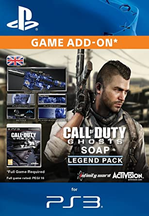 Call of Duty: Ghosts - Soap Legend Pack [Online Game Code]: Amazon