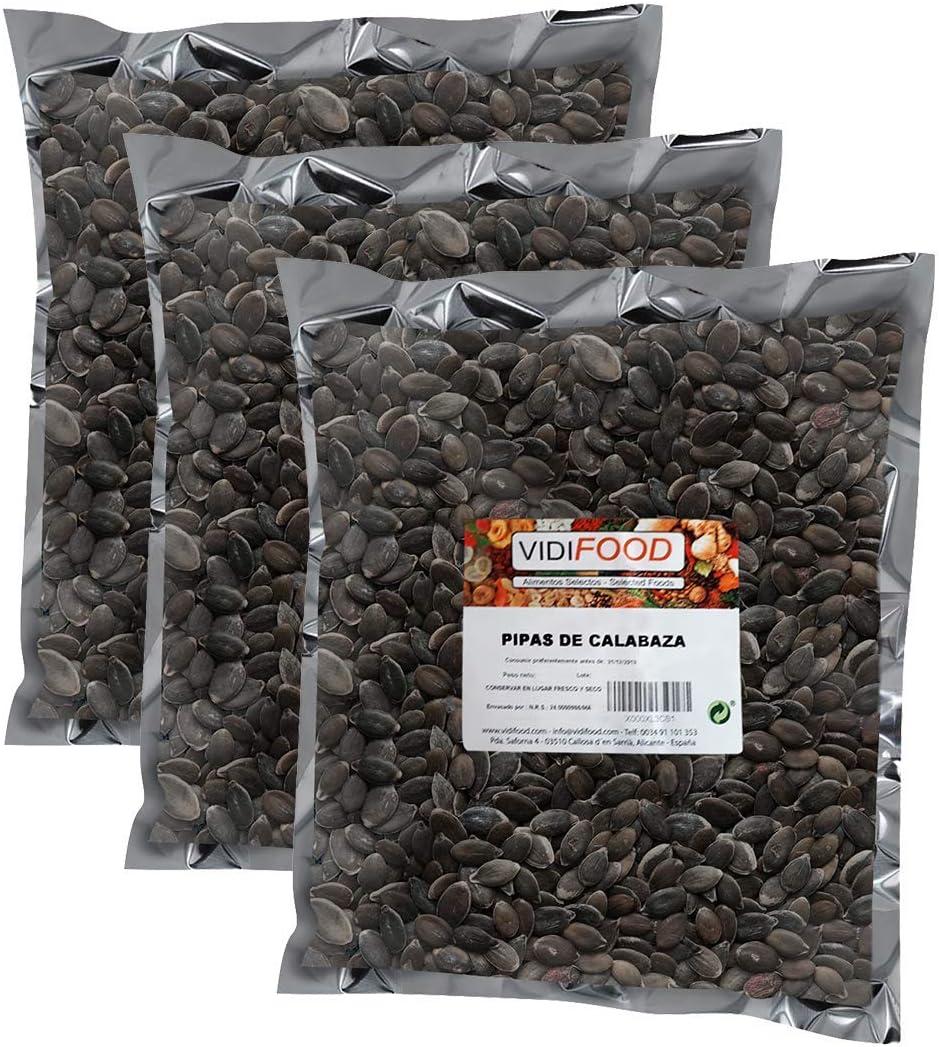 Semillas de Calabaza - 3kg - Snack Rápido Saludable - Pelado Crudo y Listo Para Comer: Amazon.es: Alimentación y bebidas