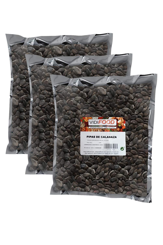 Semillas de Calabaza - 3kg - Snack Rápido Saludable - Pelado Crudo y Listo Para Comer