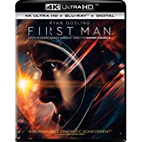 Deals on First Man 4K Ultra HD + Blu-ray