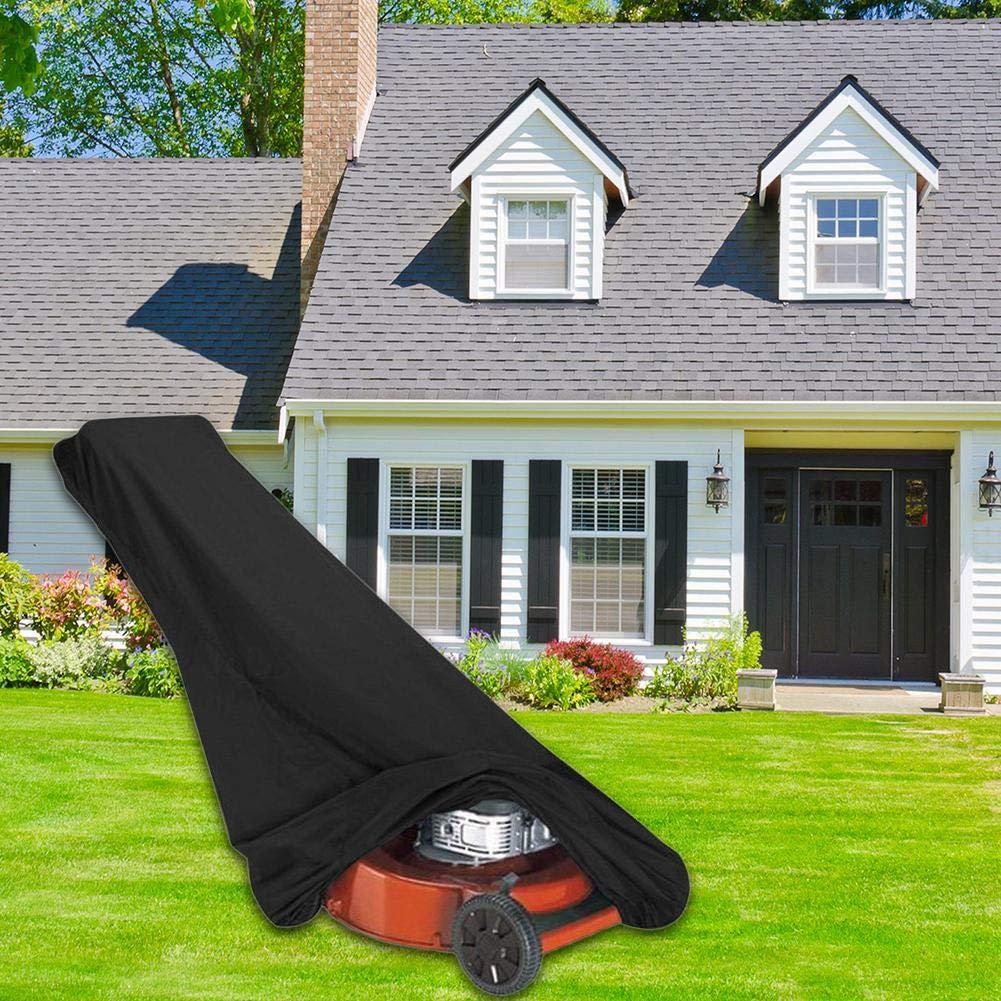 191 cm beautygoods lawn mower tarpaulin cover waterproof dust ...