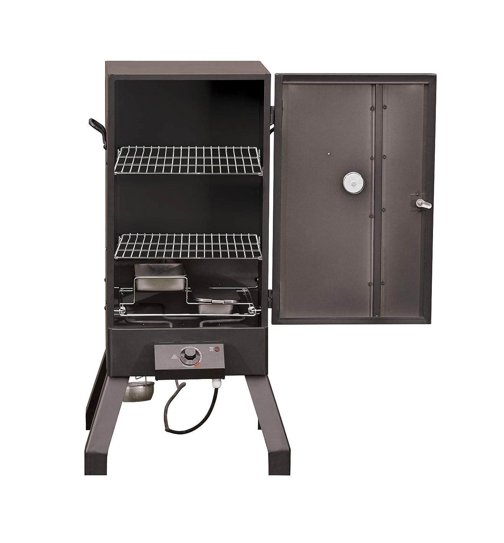 Grills & Smokers Patio, Lawn & Garden Black Masterbuilt MB20077618 ...