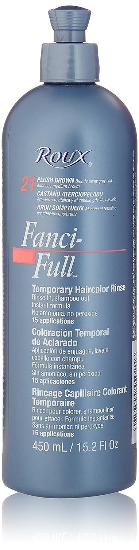 Roux Fanci-Full Rinse, 21 Plush Brown, 15.2 Fluid Ounce