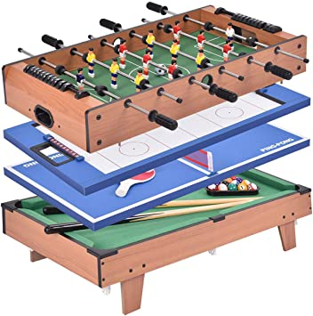 Costway 4 In 1 Multi Purpose Games Table For Table Football Pool Table Tennis Hockey Amazon De Spielzeug Games with a purpose | science news for students. multi purpose games table
