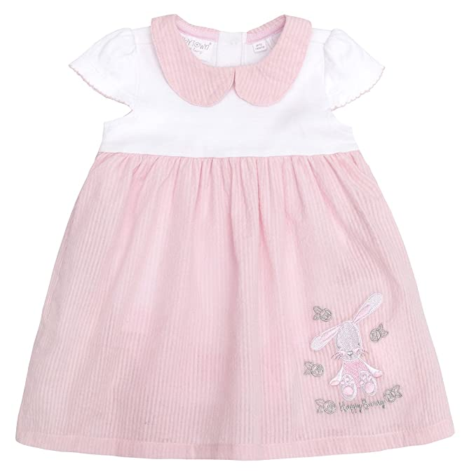 5c134b34 Amazon.com: Baby Town Baby Girls Summer Dress with Bunny Rabbit ...