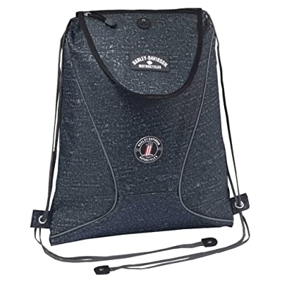 Harley-Davidson® Black Sling Backpack 99667-Black