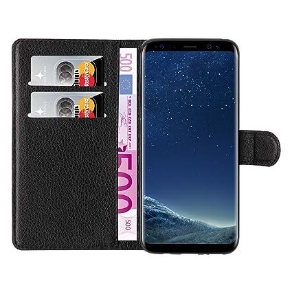 mangao Case passend für Samsung Galaxy S8 - Hülle aus PU-Leder mit Magnetverschluss