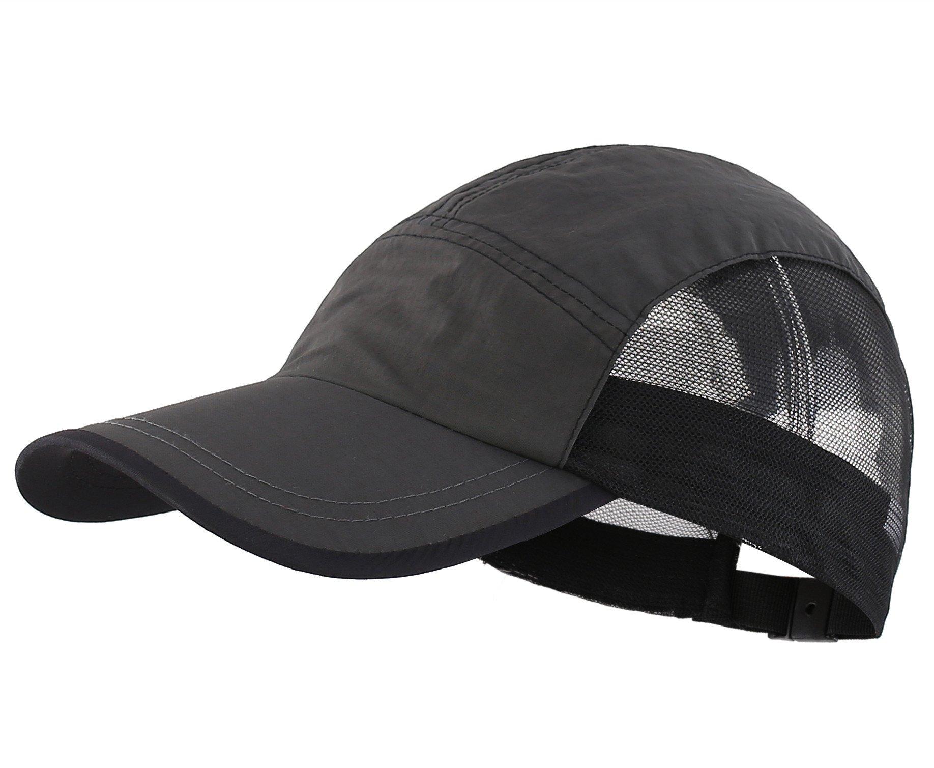 Connectyle Kids Summer Quick Drying Mesh Baseball Sun Cap Adjustable Lightweight Breezer Sports Hat