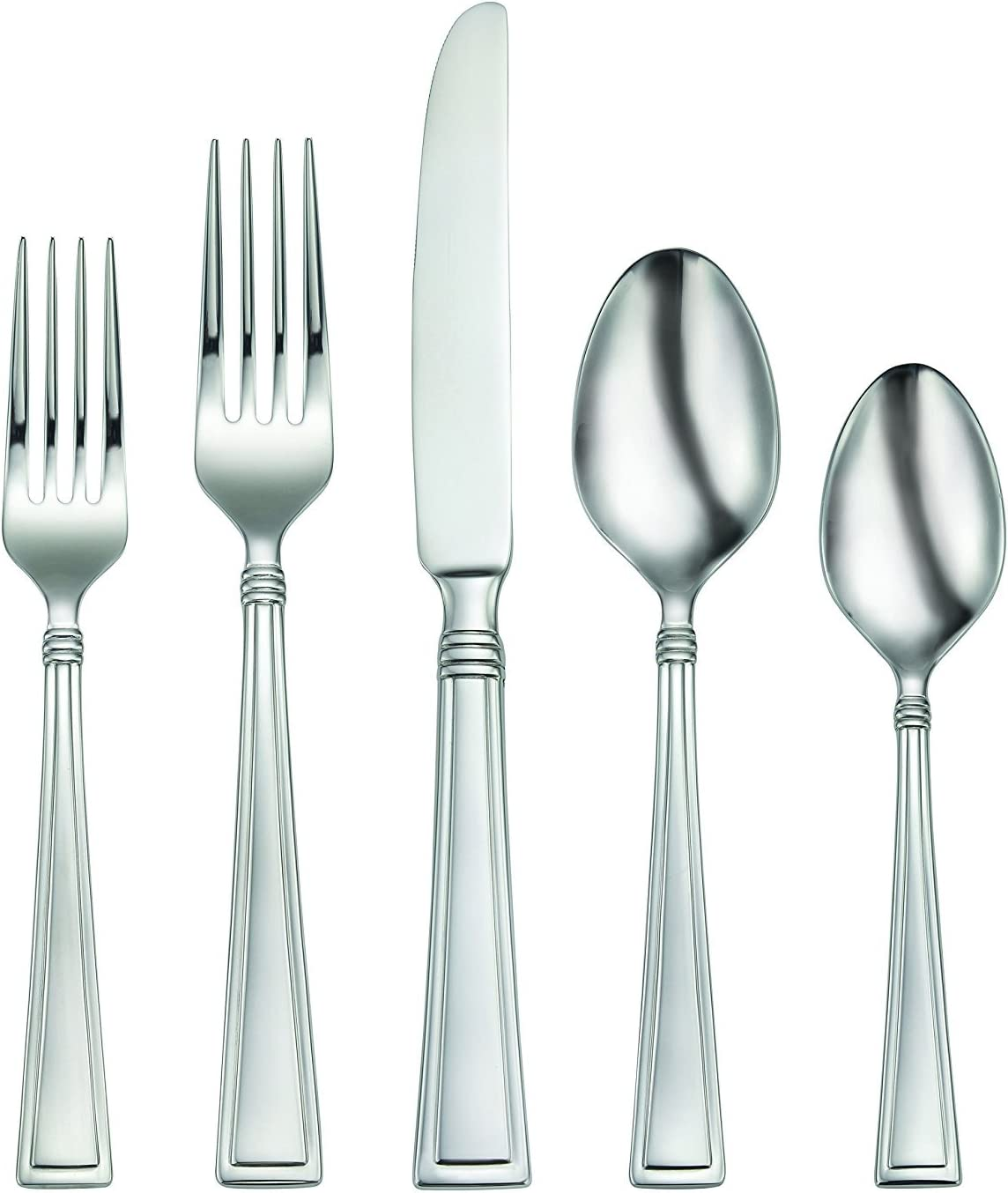 20 Pieces  FULL Set Oneida Stainless Stainless Flatware Discontinued Very Good Condition to Excellent Condition AVERY