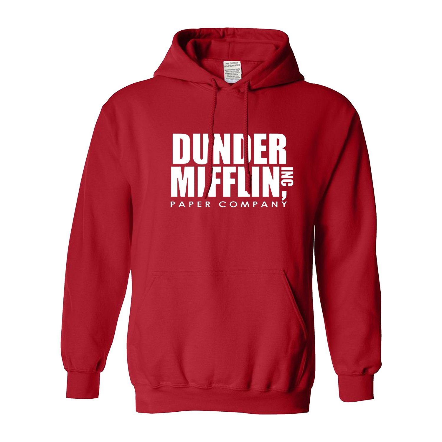 Llynice Dunder Mifflin Paper Company Office Funny Men Hooded Sweatshirt