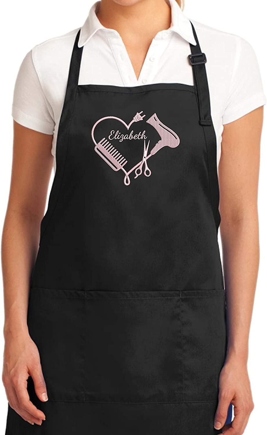 many pockets JULIAN perfect Christmas gift Hairdresser apron Christmas Sale No customization premium quality leather