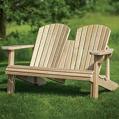 Adirondack Bench Templates with Plan - - Amazon.com