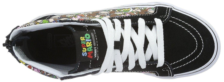 7a9a1af6ad Vans SK8 Hi Zip Nintendo Mario   Luigi Kids Canvas Trainers Shoes-2   Amazon.co.uk  Shoes   Bags