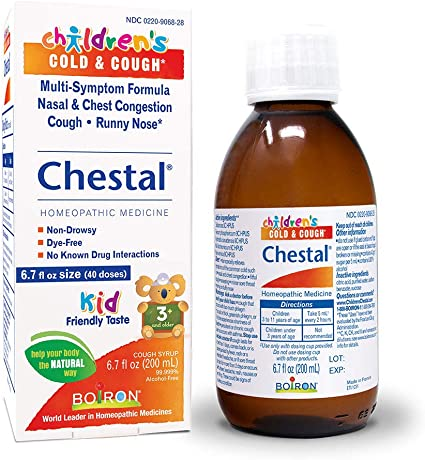 Amazon.com: Chestal Children's Cold and Cough Syrup, 6.7 Fluid Ounce:  Health & Personal Care