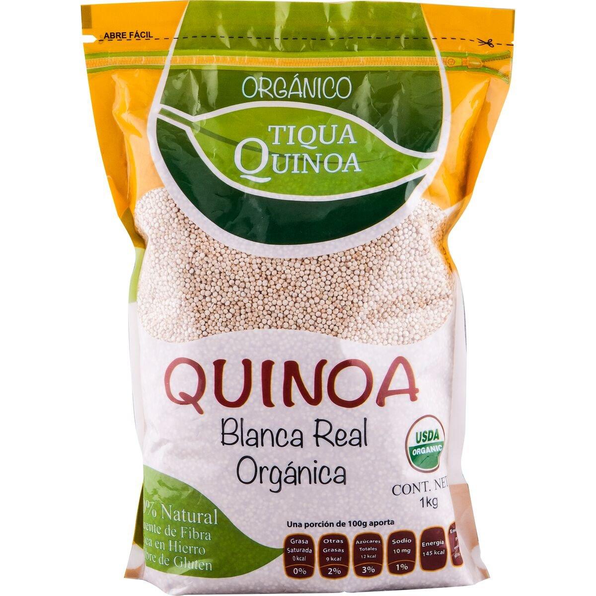 Amazon.com : Tiqua Quinoa Organic White Royal Quinoa, 1.1 Pound : Grocery & Gourmet Food