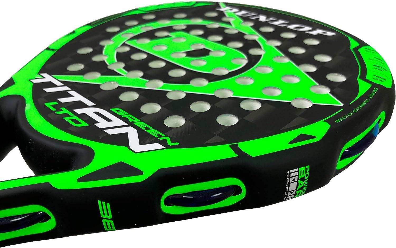 DUNLOP Pala de Padel Titan LTD Green: Amazon.es: Deportes y aire libre