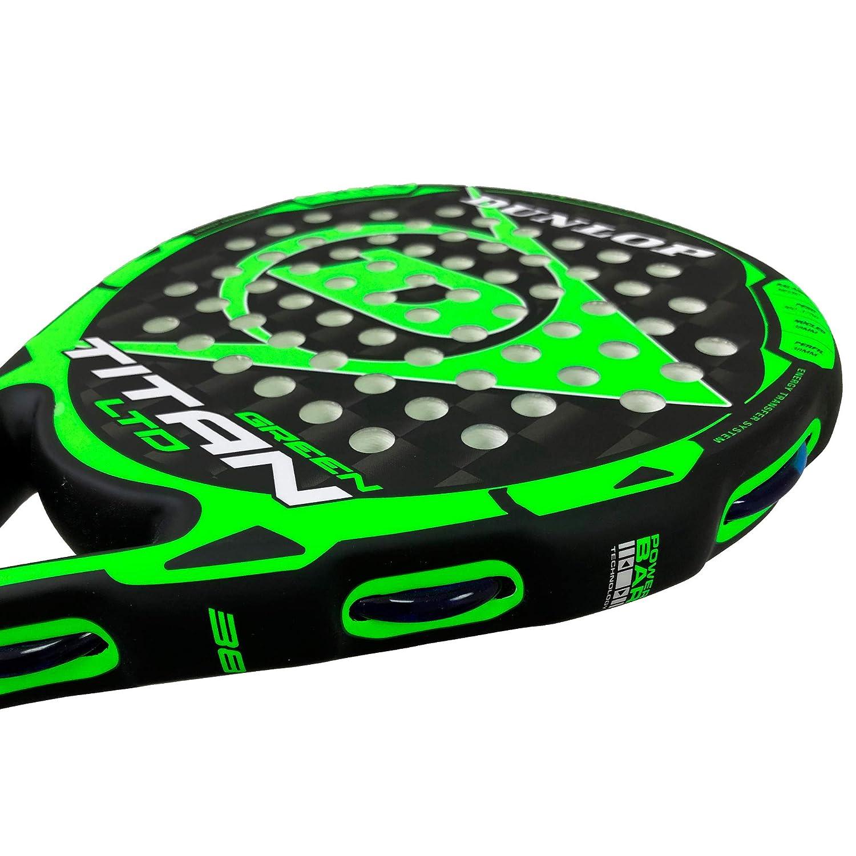 DUNLOP Pala de Padel Titan LTD Green: Amazon.es: Deportes y ...