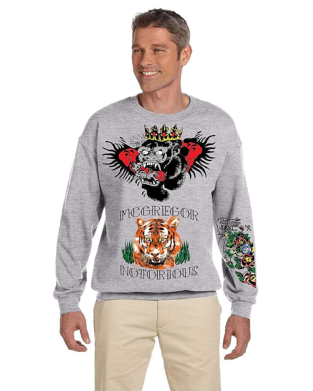 3626d4fa Allntrends Men's Sweatshirt Conor McGregor Tattoos Inspired Cool Top at  Amazon Men's Clothing store: