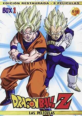 Pack Películas Dragon Ball Z.Las Peliculas Box 1 8 Películas DVD ...
